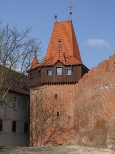 Wall tower in Opole (Oppeln), Upper Silesia