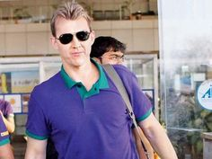 Brett Lee's Day Out With Fans In Mumbai