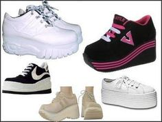 I loved these, and I loved them even more when the Spice Girls wore them.