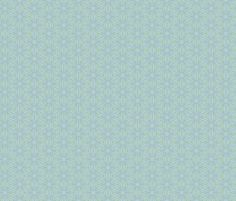 Soft Green/Blue Pattern for Mermaids fabric by luv2silkpaint on Spoonflower - custom fabric