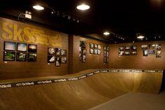 Vans Sk85ive2 Indoor Skatepark.