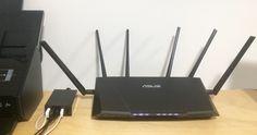Der aktuell beste Router für den Heimgebrauch kommt von Asus. Imposantes Teil.