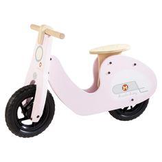 Vélo sans pédale draisienne rose Scooter