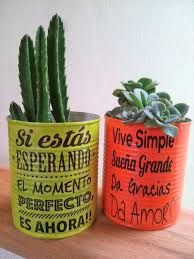 Resultado de imagen para macetas con frases Mexican Food Recipes, Planter Pots, Lettering Ideas, Ideas Creativas, Simple, Dyi, Google, Cactus, Gardens