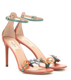 399cc5ca87f VALENTINO Embellished Leather Sandals.  valentino  shoes  sandals  Embellished Shoes
