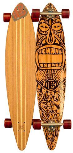Longboard Pintail Tiki Man