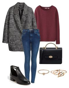 """""""Untitled #5"""" by sofia-608 ❤ liked on Polyvore featuring Uniqlo, H&M, Topshop, Mulberry, Catbird and Batya Kebudi"""