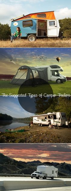 the suggested types of camper trailers