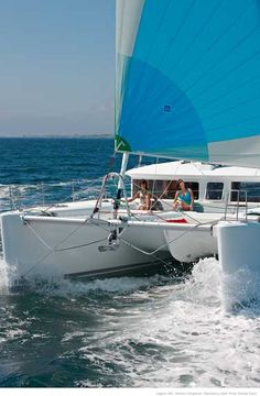 Lagoon 450-WAH! Missing island hopping on the catamaran sooo much!