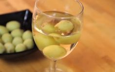 To keep white wine from getting warm, freeze grapes to use in place of ice cubes.
