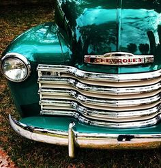 Classic Chevy. Love the color! Ooooh i love u lol, its definitly LOVE!!!!