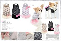 Doudoune chien City Chic Pretty Pet - vêtement chien -chihuahua - www.sweetiedog.com - #chihuahua #chien #sweetiedog #dog #fashiondog