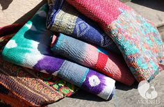 Decorative Sari throws
