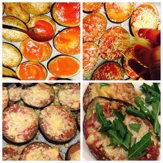 """Comer bem até aos 100...: """"MINI-PIZZAS"""" de BERINGELA"""