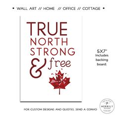 Canadian Home Maple Leaf Home Office Cottage by MERRILYDESIGNS