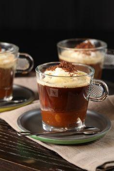Coffee Caramel Affogato.