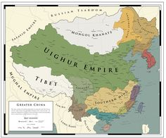 Greater China - 1620: The Uighur Triumph by ShahAbbas1571