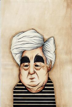 Aziz Nesin karikatür