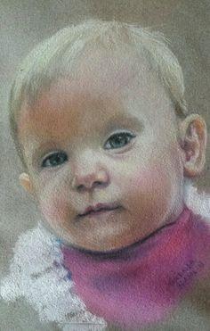 Portrait of my granddaughter
