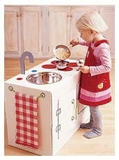 DIY box kitchen