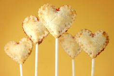 pie pops hearts