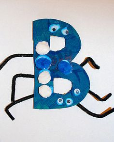 Blue B Bugs - great for teaching the color blue or the letter B