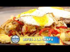 Cordero al asador, show de omelletes y bifes a la chapa y buñuelos de banana - Recetas – Cocineros Argentinos