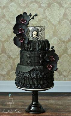 Vanessa - Penny Dreadful cake collaboration by Tamara