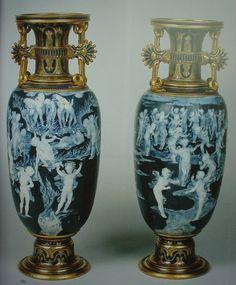 Royal Vienna Vases + Pate-Sur-Pate   随性随心的菜根