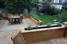 deck bench and railings - Google Search