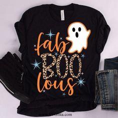 Cut Shirt Designs, Sister Birthday Presents, Halloween Shirt, Halloween Logo, Halloween Pajamas, Halloween Ideas, Silhouette Cutter, Cut Shirts, Fall Shirts