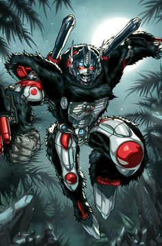 one of the new print images i will have at tfcon this year so we have optimus primal leaping into action i gotta thank Espen for working on this piece with such short notice. he really is a king of...