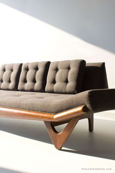 Adrian Pearsall Sofa | From a unique collection of antique and modern sofas at https://www.1stdibs.com/furniture/seating/sofas/