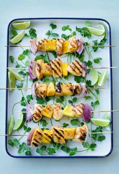 """""""So good, so light, so refreshing! A must try when your grilling!"""" -LILLADYDZ #chicken #skewers #bbq #ranch #recipe"""