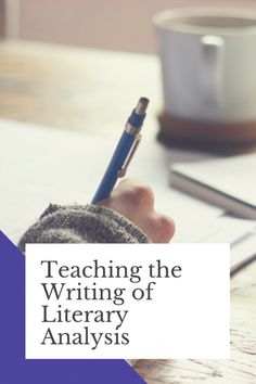 Need some help figuring out how to teach your students how to analyze literature and how to write literary analysis? Here's a guide to how I teach literary analysis writing to my students. Online College Classes, Education College, College Teaching, Teaching Kids, Teaching Tools, Teaching Resources, Best Study Tips, College Information, Teaching Programs