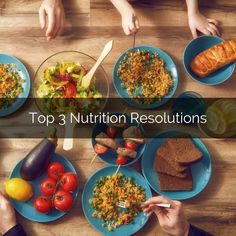 Top 3 #Nutrition  #Resolutions  for #2018  - WATCH and READ HERE: