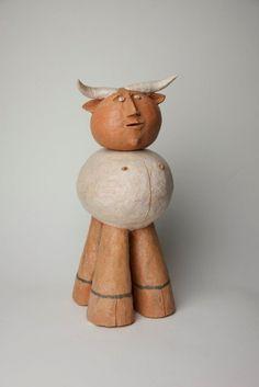 Sem Titulo 169)26 1989 Terracota  33,5cm x 13cm x 20cm #JorgeVieira #sculpture #SaoMamede #art #drawings #visit #lisbon #gallery