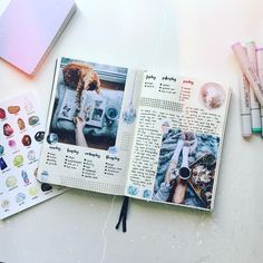 """403 Likes, 3 Comments - Anemoon (@anemoonjournal) on Instagram: """"Happy sunday guys hope you have a lovely day ✨ #bulletjournalss #bulletjournal"""""""