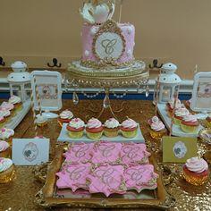 Pink sweet table royal