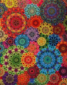 HOLY CARP if this is all pieced then this quilter is insane! WOW!