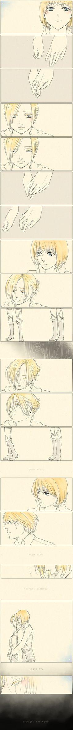 Annie and Armin / Attack on Titan