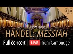 (24) AAM  VOCES8 | Handel: Messiah | Barnaby Smith, VOCES8, Apollo5 and VOCES8 Foundation Choir - YouTube Opera Arias, Ancient Music, Christopher Moore, Martin Smith, Be Exalted, A Child Is Born, Relaxing Music, Classical Music, Trust God