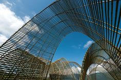 Another bautiful #bamboo building... Forest Pavilion by nArchitects, in Guangfu, Hualien, Taiwan. 2.011.