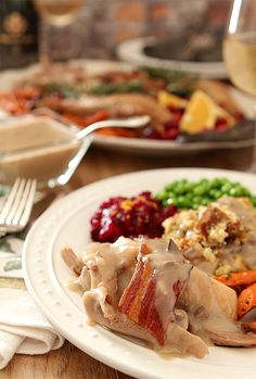 Maple-Roasted Turkey with Sage, Bacon, and Cornbread Stuffing   Creative Culinary   A Denver, Colorado Food and Cocktail Blog
