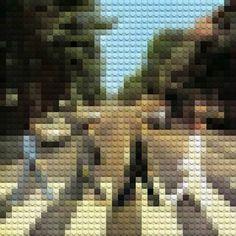 #LEGO ALBUMS – Les albums cultes recréés avec des LEGO (image)