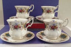 A personal favorite from my Etsy shop https://www.etsy.com/listing/231748076/royal-albert-teacup-sets-berkeley