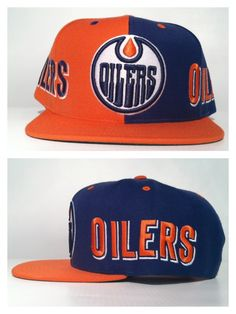 e69320a54cc Oilers Mitchell And Ness Snapback