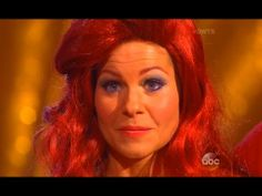 DWTS 18 HD ~WEEK 5 ~ 4-14-14   Candace Cameron Bure and Mark Ballas  (The Little Mermaid)