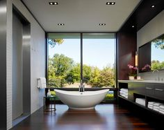 Lake County Estate - modern - bathroom - chicago - Jessica Lagrange Interiors LLC
