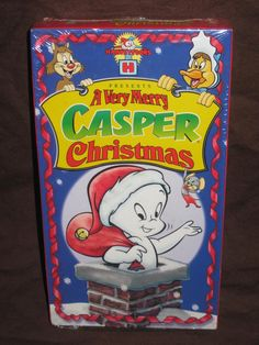 A Very Merry Casper Christmas VHS by HECTORSVINTAGEVAULT on Etsy